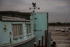 Bewitched (frattonparker) Tags: afsnikkor28300mmf3556gedvr btonner lightroom6 nikond810 raw solent frattonparker eastney lockslake langstoneharbour houseboats weathervane