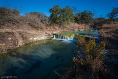 Balcones-Canyonlands-NWR-waterfall-2m (Jason Frels) Tags: balconescanyonlandsnationalwildliferefuge nwr texashikes texashillcountry cascade creek hike hiking landscape landscapephotography longexposure morning morninghike motionblur texas water waterfall