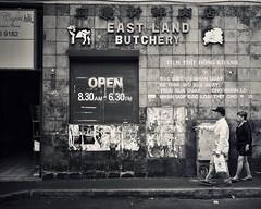 east land butchery (gro57074@bigpond.net.au) Tags: 2019 january f28 2470mmf28 tamron d850 nikon grit monotone mono monochrome blackwhite bw candidphotography candidstreet streetphotography street australia nsw cabramatta eastlandbutchery guyclift