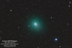 Comet Wirtanen (46P) on Jan 5, 2019 (CajunAstro) Tags: 46p 46pwirtanen comet astrophography televue tv85 night sky stars space telescope nightsky comets galaxies astrometrydotnet:id=nova3144317 astrometrydotnet:status=solved