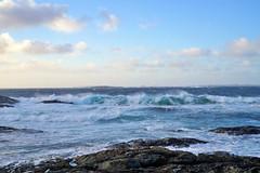 Waves (StoresundPhoto) Tags: storm wind sea heaven sky norway norge nature natur nature2019 haugesund rogaland colors color landscape lines