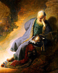 Rembrandt van Rijn. Jeremiah Lamenting the Destruction of Jerusalem. 1630. detail (arthistory390) Tags: rijksmuseum