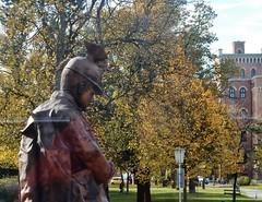 Bronze Soldier (mikecogh) Tags: vienna soldier helmet bronze militarymuseum statue