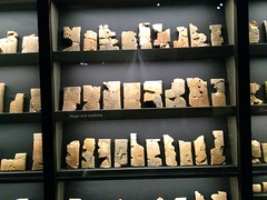 UK - London - Bloomsbury - British Museum - Remains of Ashburnipal's library in Ninevah (JulesFoto) Tags: uk england london britishmuseum assyria sculpture
