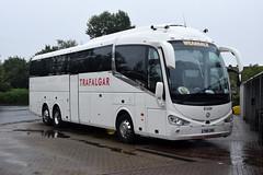 Weardale Coaches Irizar i6 at Gretna, 29/7/18 (andyflyer) Tags: weardale weardalecoaches irizari6 irizar trafalgartours bus coach gretna gretnagreen