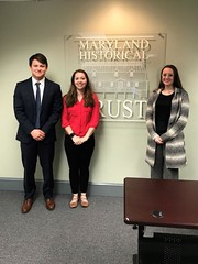 Left to Right Jacob Rosenzweig-stein ('20), Sustainability Fellow Kaitlin Aaby ('18), and  Ava Yensan ('20)