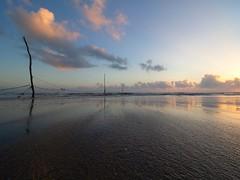 IMG_7384 ~ harapan (alongbc) Tags: sunrise reflection beach coast coastline seascape shoreline cloud sea sky pantaisepat kuantan pahang malaysia travel place trip canon eos700d canoneos700d canonlens 10mm18mm wideangle happyplanet asiafavorites