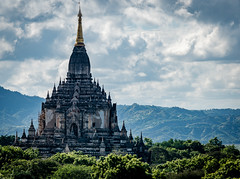 Discovering Bagan (bransch.photography) Tags: ancient asian landscape asia buddhist old myanmar shrine religion religious buddhism culture beautiful stupa architecture burma travel sky bagan historical pagoda temple traditional