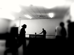 Get together (daveandlyn1) Tags: blackandwhite monochrome mono party gettogether shrewsbury castlefields pralx1 p8lite2017 huawei smartphone psdigitalcamera cameraphone people room lighting fuzzy blurred blurredaroundtheedges