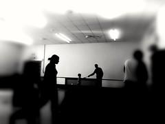 Get together (daveandlyn1) Tags: blackandwhite monochrome mono party gettogether shrewsbury castlefields pralx1 p8lite2017 huawei smartphone psdigitalcamera cameraphone people room lighting fuzzy blurred blurredaroundtheedges