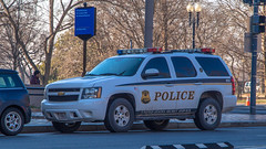 Chevy Tahoe (NoVa Truck & Transport Photos) Tags: chevrolet tahoe chevy united states secret service uniformed division marked police cruiser law enforcement first responder