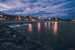 Cambrils Night (steelmancat) Tags: cambrils costa daurada mediterrani catalunya sunset night bluehour hora blava azul jordigs