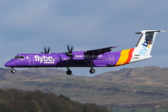 G-PRPD Flybe De Havilland Canada Dash 8-Q400 at Glasgow International Airport 23 March 2019 (Zone 49 Photography) Tags: aircraft airliner airlines airport aviation plane march 2019 gla egpf glasgow abbotsinch international scotland be bee flybe de havilland canada dhc dash8 q400 gprpd