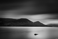 Calm lake (Rico the noob) Tags: 2018 d850 lakedistrict landscape nature water mountains outdoor lake clouds 2470mmf28e longexposure blackandwhite monochrome tree travel published uk trees bw 2470mm sky dof mountain