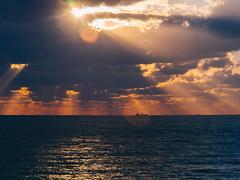 P1091243 (mr. Wood) Tags: ep5 computar olympus cyprus paphos larnaca mediterranian waves sunset sea water sky