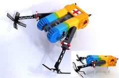 """SAR Hovercraft """"Owl"""" (Tammo S.) Tags: lego moc hovercraft coastguard sar scifi"""