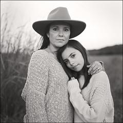mother daughter (Mark.Patrick.Abernathy) Tags: hasselblad 500cm kodak trix medium format austin texas film analogue square 80mm zeiss planar