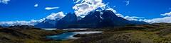 Torres del Paine (Hari Haru) Tags: landscape nature travel panorama trekking lake water mountains chile patagonia torresdelpaine