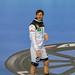 Handballspieler Uwe Gensheimer lacht an Handball Weltmeisterschaft 2019 in Kamera