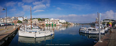 Panorámica Porto Petro. (AGONZA) Tags: cala porto petro ángel mar mediterráneo mallorca baleares españa cielo color barcos reflejos panorama