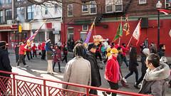 Dragons on parade. (kuntheaprum) Tags: chinatownboston chinesenewyearcelebration yearofthepig sony a7riii tamron 2470mm f28 festival parade dragon firework