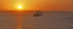 Early riser. (MSGS4) Tags: cielodesanfrancisco damico cobh cork ireland harbour pilot bulk carrier