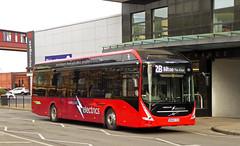 Transdev Harrogate 808 (SRB Photography Edinburgh) Tags: transdev harrogate bus company buses uk england transport electric volvo 7900 red yorkshire