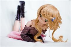 Lying (gwennan) Tags: mayu dollfiedream dollfiedreamsister jfigure japan cute anime closeup toy doll volks softvinyl color colors