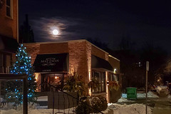 Moon Over Dinner - 50/365 (prestonciere) Tags: hamilton ontario canada ca 365the2019edition 3652019 day50365 19feb19