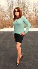 End of Winter? (Kim Kross) Tags: cdtv crossdresser crossdress crossdressing crossdressed tranny transvestite tgirl feminized