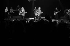 IMG_5530 (crosswalkchurch) Tags: thrive 2019 norge sisterhood ladies women conference auditorium worship band hands raised monochrome blackandwhite