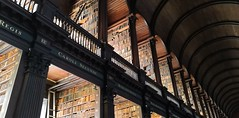 Beautiful Long Room in Trinity Library (MargrietPurmerend) Tags: library trinity dublin bookofkells ireland