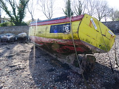 Remains of RACHAEL PZ 756 Fishing Boat  (Replaced 2013) (guyfogwill) Tags: 2019 abandoned bateau bateaux boat boats cemetery cimetièredebateaux decaying devon england fishingboat fishingvessel fogwill gbr guy guyfogwill pz756 rachael ringmore teignestuary tq14 uk unitedkingdom vessel winter woodenboats wreck mud moored rotting hulks bâteaux wrecks flicker photo interesting absorbing engrossing fascinating riveting gripping compelling compulsive sony dschx60 coastal coastline