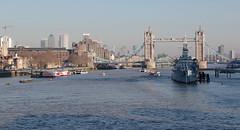 IMGP8525 (mattbuck4950) Tags: england unitedkingdom europe bridges water boats royalnavy rivers february hmsbelfast london riverthames towerbridge a100 cityoflondon citycruises londonbridge a3 boroughhighstreet camerapentaxk70 lenssigma18300mm 2019 gbr