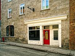792 (Jean S..) Tags: building street sidewalk door windows stone brick red white