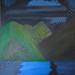 ''Midnight Dreamscape'' by Shaila B, acrylic, $25.00