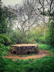 Emergency Command Post … (marc.barrot) Tags: shotoniphone landscape trees uk rm13 london havering rainham rafhornchurch hornchurchcountrypark cp commandpost
