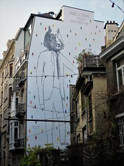 Dominique Goblet / Bruxelles - 22 dec 2018 (Ferdinand 'Ferre' Feys) Tags: bxl brussels bruxelles brussel belgium belgique belgië streetart artdelarue graffitiart graffiti graff urbanart urbanarte arteurbano ferdinandfeys bestof2018be