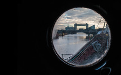 Port Hull Viewpoint (SydPix) Tags: porthole window glass riverhull hull tidalbarrier thedeep scalelane bridge trawler arcticcorsair heritage museum history fishing river water sydyoung sydpix
