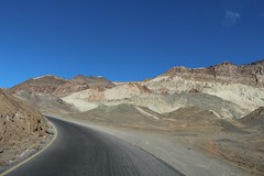 0208 Colorful mineral deposits on Artists Drive in Death Valley (_JFR_) Tags: camping hiking deathvalley deathvalleynationalpark artistsdrive