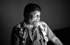 Shahidul Alam portrait by Fariha (shahidul001) Tags: florence italy shahidulalam photographer writer bangladeshi bangladesh activist humanrights teaching portrait