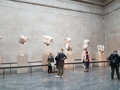 The Parthenon Marbles. (greentool2002) Tags: the british museum london ancient greece athens greek marbles marble parthenon elgin