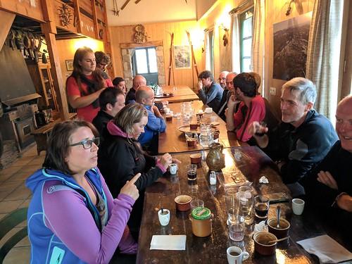 270 - Day 12,  Dinner at Refuge Jeandel 091018