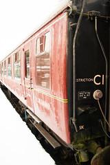 Train to White (Stuart.67) Tags: train snow midsomernorton somerset dorset railway station heritage sd nikon d800