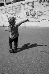 There! (gergelytakacs) Tags: 28mm apsc ba blava bratislava eu easterneurope europe europeanunion gr grd kamenné kamennénámestie pozsony pressburg ricoh sr slovak slovakia slovensko slovenskárepublika back biancoenero blancoynegro bystander calle candid child children compact east feketefehér fixedlens flâneur graffiti head hlavnémestosr kid monocromo noiretblanc people pointing portrait primelens rue scarf shadow stars strada stranger strasenfotografie street streetphotographer streetphotography streetphotgrapher streetphotgraphy stripes tag tagged ulica unposed urban urbanphoto urbanphotographer urbanphotography utcafotó vanalism vandalised vandalized wall čiernaabiela улица чернобелый רחוב 黑白