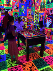 FAILE: Savage/Sacred Young Minds (dckellyphoto) Tags: newyorkcity newyork 2015 usa nyc faile patrickmcneil patrickmiller color colors colorful table game glow