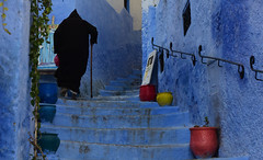Chefchaouen, Morocco, January 2019 D810 610 (tango-) Tags: chefchaouen bluecity villaggioblu bluevillage morocco maroc 摩洛哥 marruecos марокко المغرب