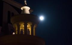 Full Moon Castle (free3yourmind) Tags: full moon castle done arch architecture night sky light illuminated batumi georgia