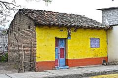 Colorful house (jose_luis_alvarez_romero) Tags: cotacachi imbabura ecuador vintage antiguo teja brick wall colorful ladrillo hdr