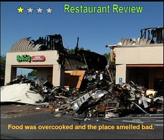 ODC burnt (FolsomNatural) Tags: burned burnt structure fire spoof parody humordailychallenge odc